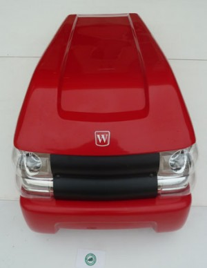 Westwood Tractor Bonnet and Front Light Assembly 149551400