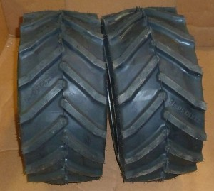 Westwood/Countax Tractor Chevron Rear Tyre Set (Pair) 50100013