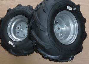 Westwood/Countax Tractor Chevron Tyre Set (Pair) 50100012