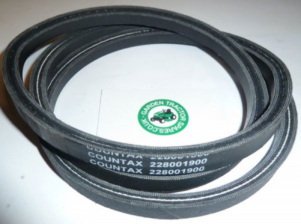 Westwood Countax Tractor Pgc To Tractor Belt 228001900